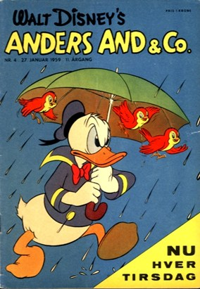 Anders And & Co. nr.  4 - 1959 (lille)