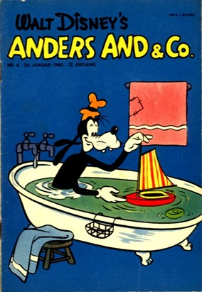 Anders And & Co. nr.  4 - 1960 (lille)