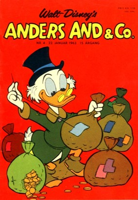 Anders And & Co. nr.  4 - 1963 (lille)