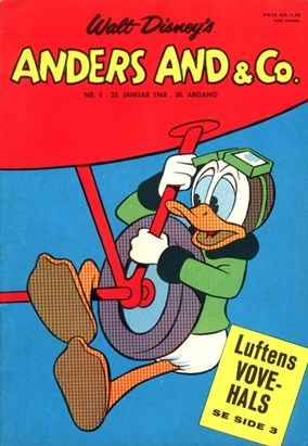 Anders And & Co. nr.  4 - 1968 (lille)
