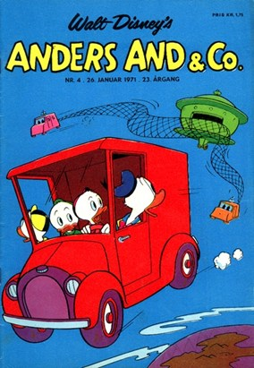 Anders And & Co. nr.  4 - 1971 (lille)