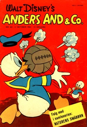 Anders And & Co. nr.  40 - 1961 (lille)