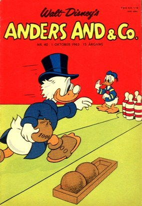 Anders And & Co. nr.  40 - 1963 (lille)