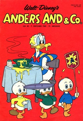 Anders And & Co. nr.  40 - 1969 (lille)