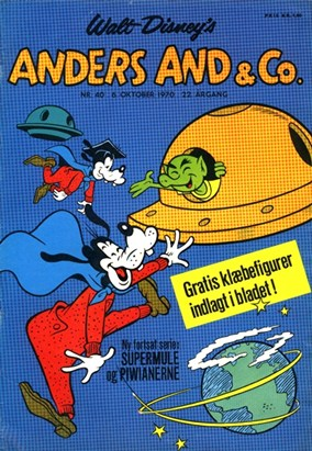 Anders And & Co. nr.  40 - 1970 (lille)