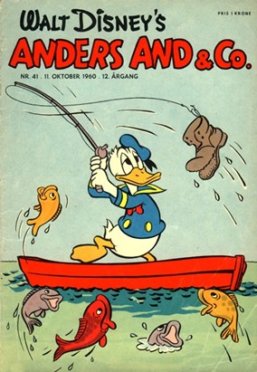 Anders And & Co. nr.  41 - 1960 (lille)