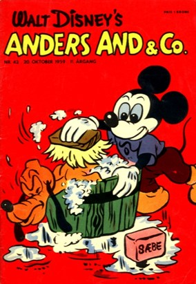 Anders And & Co. nr.  42 - 1959 (lille)
