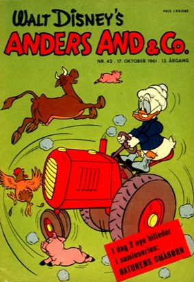 Anders And & Co. nr.  42 - 1961 (lille)