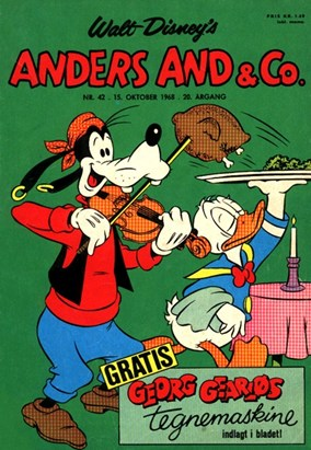 Anders And & Co. nr.  42 - 1968 (lille)