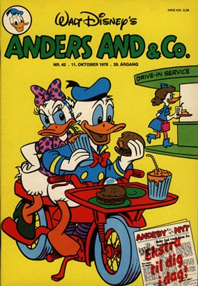 Anders And & Co. nr.  42 - 1976 (lille)