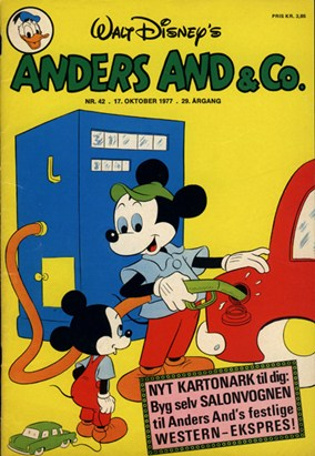 Anders And & Co. nr.  42 - 1977 (lille)