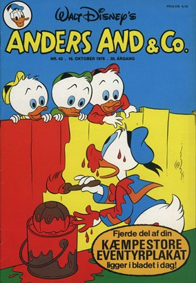Anders And & Co. nr.  42 - 1978 (lille)