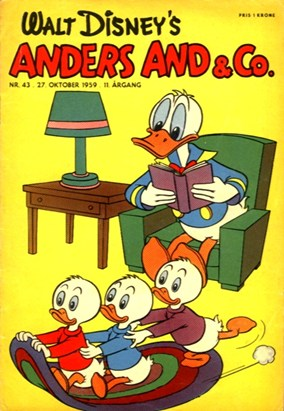Anders And & Co. nr.  43 - 1959 (lille)