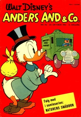 Anders And & Co. nr.  43 - 1961 (lille)