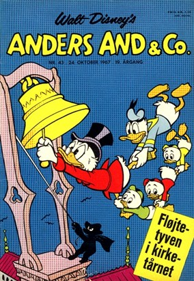 Anders And & Co. nr.  43 - 1967 (lille)