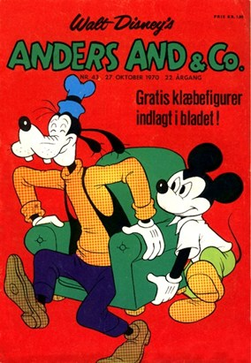 Anders And & Co. nr.  43 - 1970 (lille)