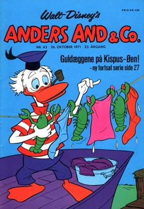 Anders And & Co. nr.  43 - 1971 (lille)