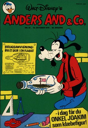 Anders And & Co. nr.  43 - 1976 (lille)
