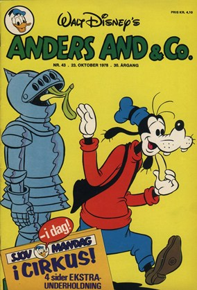 Anders And & Co. nr.  43 - 1978 (lille)
