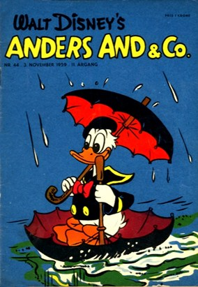 Anders And & Co. nr.  44 - 1959 (lille)