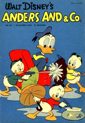 Anders And & Co. nr.  44 - 1960 (lille)