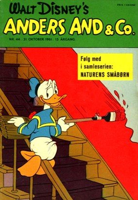 Anders And & Co. nr.  44 - 1961 (lille)
