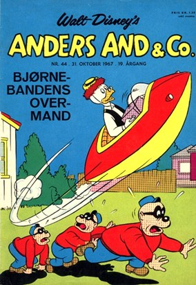 Anders And & Co. nr.  44 - 1967 (lille)