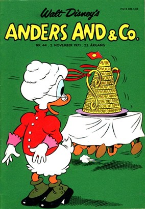 Anders And & Co. nr.  44 - 1971 (lille)