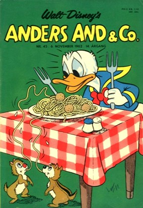 Anders And & Co. nr.  45 - 1962 (lille)