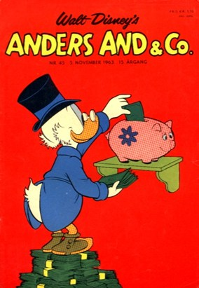 Anders And & Co. nr.  45 - 1963 (lille)