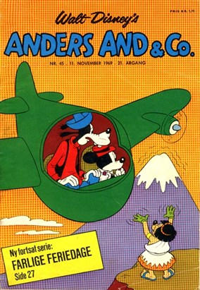 Anders And & Co. nr.  45 - 1969 (lille)