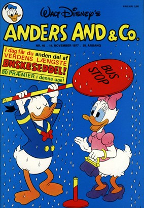 Anders And & Co. nr.  46 - 1977 (lille)