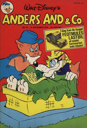 Anders And & Co. nr.  46 - 1978 (lille)