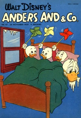 Anders And & Co. nr.  47 - 1959 (lille)