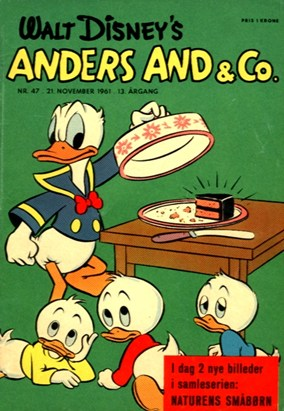 Anders And & Co. nr.  47 - 1961 (lille)