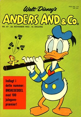 Anders And & Co. nr.  47  - 1962 (lille)