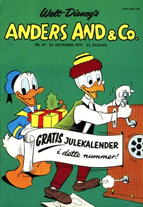 Anders And & Co. nr.  47 - 1970 (lille)