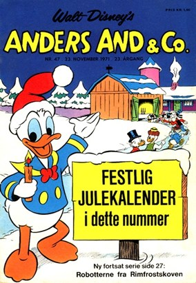 Anders And & Co. nr.  47 - 1971 (lille)