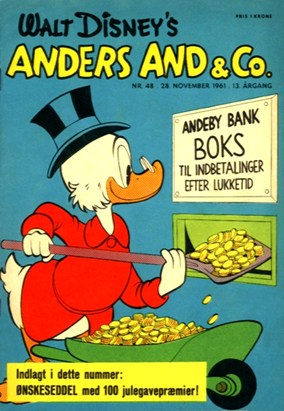 Anders And & Co. nr.  48 - 1961 (lille)