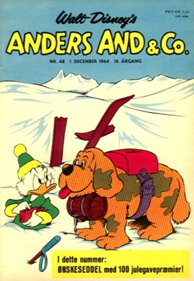 Anders And & Co. nr.  48 - 1964 (lille)