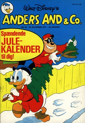 Anders And & Co. nr.  48 - 1977 (lille)