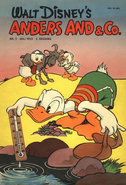 Anders And & Co. nr.  5 - 1953 (lille)