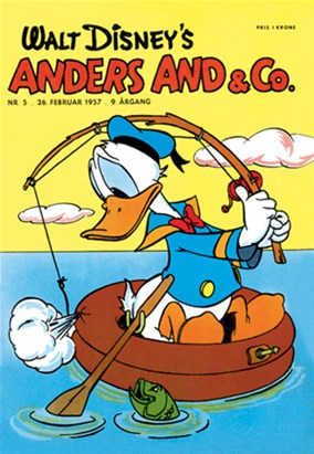 Anders And & Co. nr.  5 -  1957 (lille)