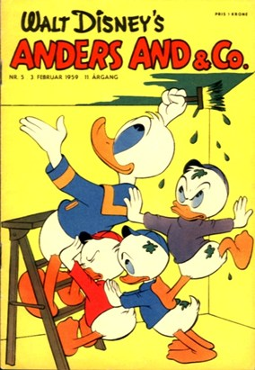 Anders And & Co. nr.  5 - 1959 (lille)