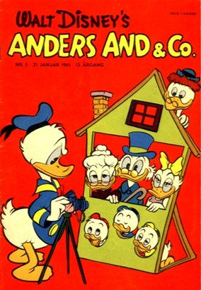 Anders And & Co. nr.  5 - 1961 (lille)