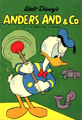 Anders And & Co. nr.  5 - 1963 (lille)