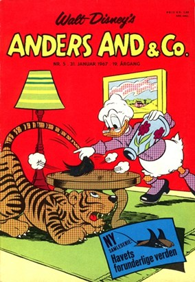 Anders And & Co. nr.  5 - 1967 (lille)