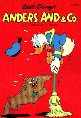Anders And & Co. nr.  5 - 1969 (lille)