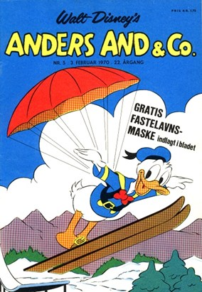 Anders And & Co. nr.  5 - 1970 (lille)