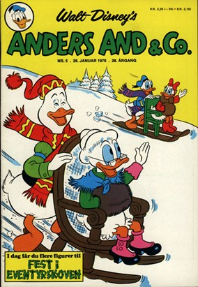Anders And & Co. nr.  5 - 1976 (lille)